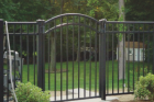 If you want the look of wrought iron and the beauty that it brings to a property, you can install and ornamental fence using different metals such as steel or aluminum.